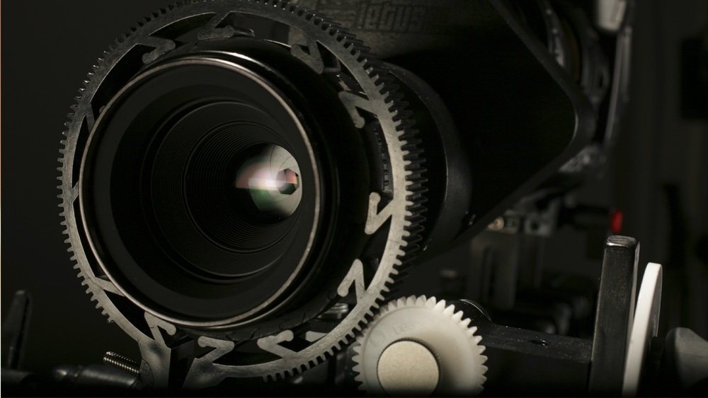 Nikon Lens with Camera Rig